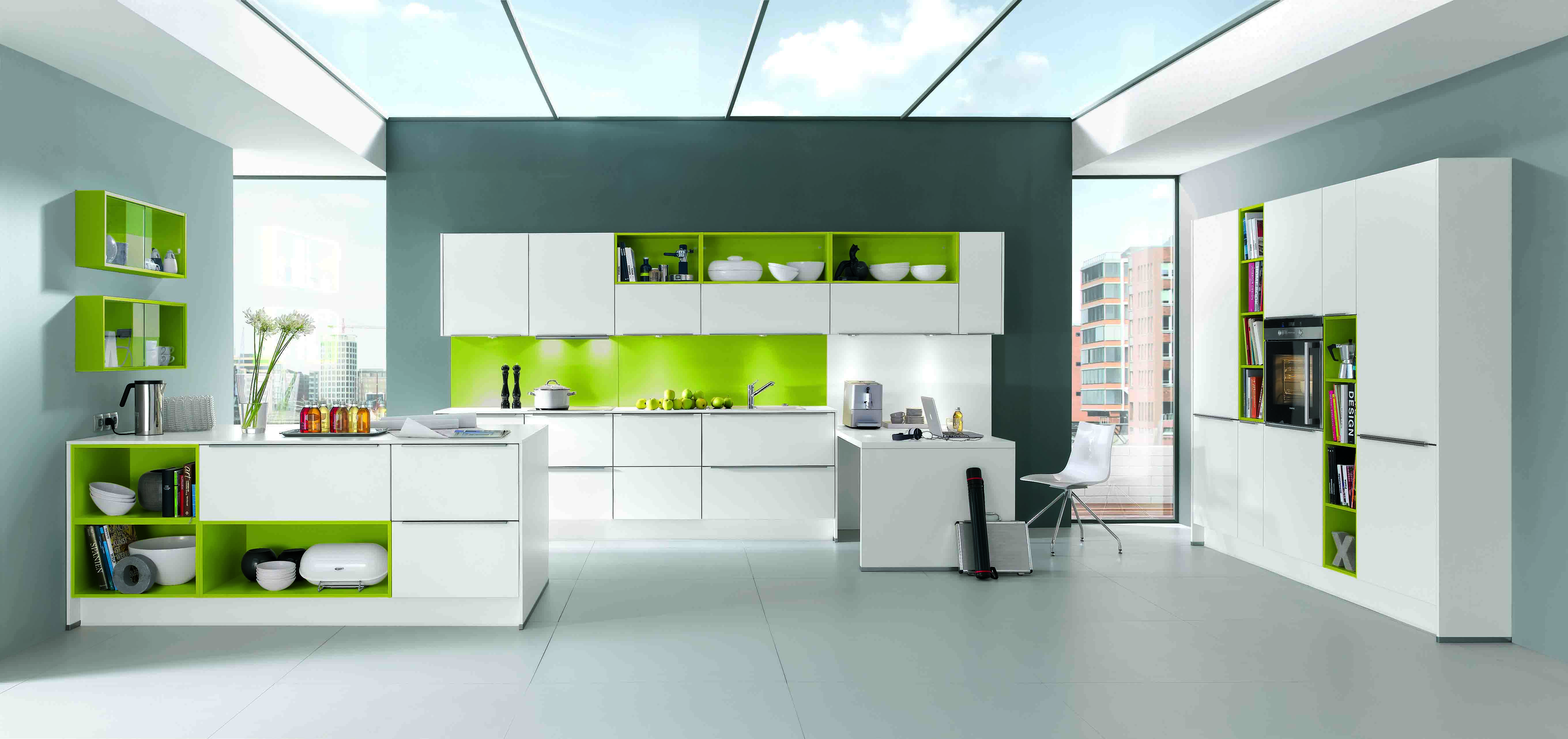 Wodart modular kitchens guntur wardrobes furniture for Meuble cuisine blanc et noir
